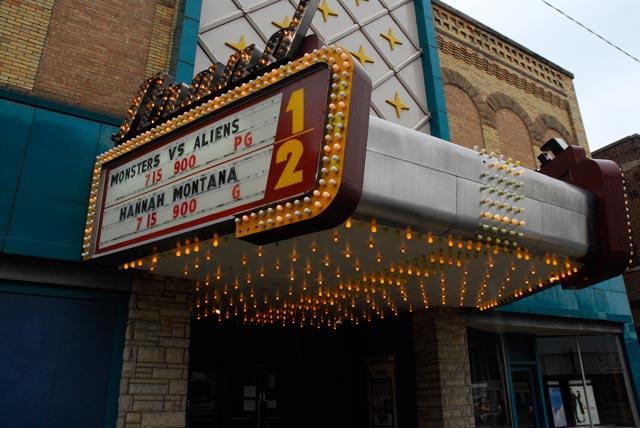 Strand Theatre Marquee Image