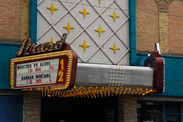 Strand Theatre Kendallville Marquee Image