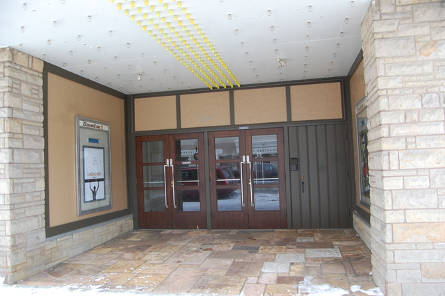 Strand Theatre Kendallville Main Entrance