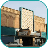 Strand Theatre Kendallville Front of Building Image